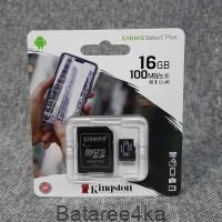 Карта памяти Kingston MicroSD 16GB 100mb