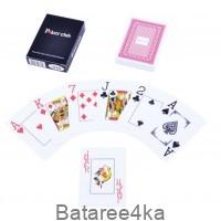 Карты игральные пластиковые Poker Club