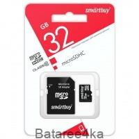 Карта памяти Smartbuy MicroSD 32GB