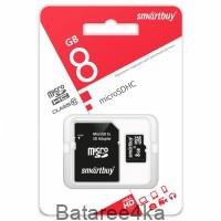 Карта памяти Smartbuy MicroSD 8GB