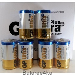 Батарейки GP ULTRA PLUS D LR20, , 1.50$, 00074, GP batteries, Батарейки GP Ultra Plus alkaline