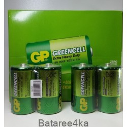 Батарейки GP R20 Greencell D, , 0.65$, 00020, GP batteries, Батарейки GP Greencell