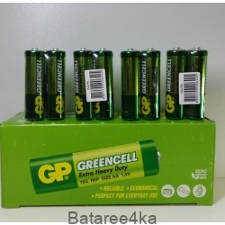Батарейка GP R6 Greencell AA, , 0.16$, 00022, GP batteries, Батарейки GP Greencell