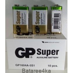 Батарейки GP Super Alkaline 9V крона, , 1.50$, 1003, GP batteries, Батарейки GP Super alkaline