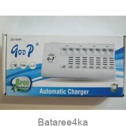 Зарядное устройство GooP GD 808А, , 6.55$, 808, Goop, Зарядные устройства АА/ААА