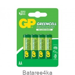 Батарейки GP Greencell