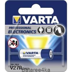 Батарейка VARTA 27A, , 1.30$, 700427, Varta, Батарейки таблетки VARTA