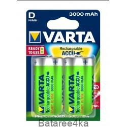 Аккумуляторы VARTA D 3000mAh, , 4.50$, 2002, Varta, Аккумуляторы Varta