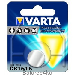 Батарейки VARTA CR 1616 LITHIUM, , 1.05$, 201616, Varta, Батарейки таблетки VARTA