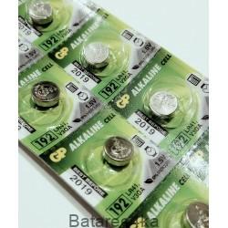 Батарейка часовая GP 192, , 0.15$, 00112, GP batteries, Батарейки таблетки GP