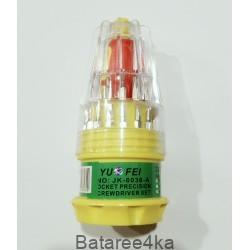 Набор отверток JACKLY TP-6036B, , 1.50$, 0780, , Инструмент