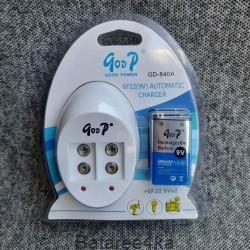 Зарядное устройство Goop GD 840, , 11.00$, 840, Goop, Зарядные устройства АА/ААА