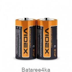 Батарейки солевые Videx R14 C, , 0.16$, 20113, Videx, Батарейки Videx