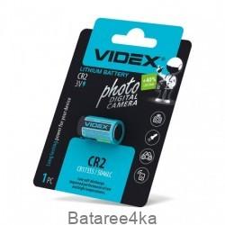 Батарейки литиевые Videx CR2, , 1.60$, 20122, Videx, Батарейки Videx