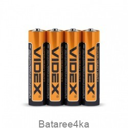 Батарейки солевые Videx R03 AAA, , 0.07$, 20112, Videx, Батарейки Videx