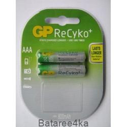 Аккумуляторы GP ReCyko AAA 820 mah, , 1.80$, 6201, GP batteries, Аккумуляторы GP