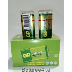 Батарейка крона GP 9V Greencell, , 0.65$, 2345, GP batteries, Батарейки GP Greencell