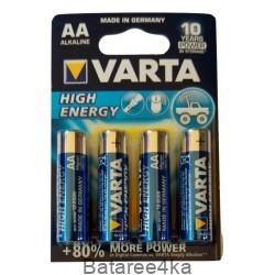 Батарейки VARTA HIGH Energy AA, , 0.39$, 20002, Varta, Батарейки Varta