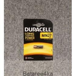 Батарейки Duracell MN27 27А, , 1.30$, 00345, DURACELL, Батарейки Duracell
