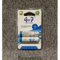 Аккумуляторы GooP R6 AA 1500mah