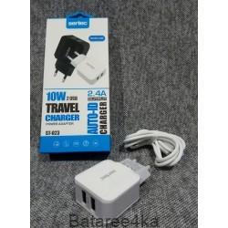 Зарядное устройство Sertec st 023 micro usb, , 3.20$, 67893, Sertec, Зарядные устройства для телефонов планшетов