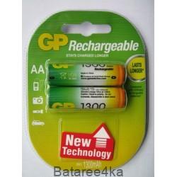 Аккумуляторы GP AA 1300 mAh, , 1.65$, 6105, GP batteries, Аккумуляторы GP