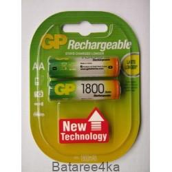 Аккумуляторы GP AA 1800 mAh, , 1.90$, 6106, GP batteries, Аккумуляторы GP