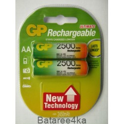 Аккумуляторы GP AA 2500 mAh, , 2.60$, 6108, GP batteries, Аккумуляторы GP