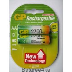 Аккумуляторы GP AA 2700 mAh, , 2.85$, 6109, GP batteries, Аккумуляторы GP