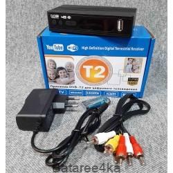 Цифровой эфирный приемник TV тюнер T2 MEGOGO, , 9.50$, 77903, , Цифровые приставки Т2