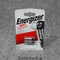 Батарейка Energizer 27A, , 1.30$, 10227, Energizer, Батарейки ENERGIZER