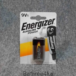 Батарейка Energizer 9V alkaline, , 2.10$, 10215, Energizer, Батарейки ENERGIZER
