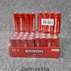 Батарейки ETRON AA LR6, , 0.14$, 55673, ETRON, Батарейки ETRON