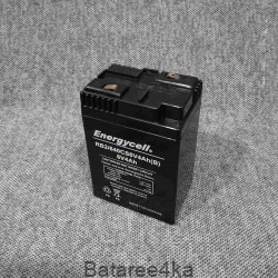 Аккумулятор energycell 6V 4Ah стоит дата 1606 рабочие, , 1.00$, 77773, Energycell, Аккумуляторы свинцово-кислотные