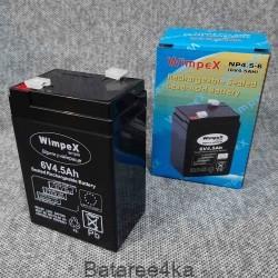 Аккумулятор wimpex 6V 4.5Ah, , 3.50$, 77770, Wimpex, Аккумуляторы свинцово-кислотные