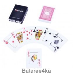 Карты игральные пластиковые Poker Club, , 1.60$, 80001, , Карты игральные