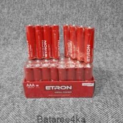 Батарейки ETRON AAA LR03, , 0.14$, 55674, ETRON, Батарейки ETRON