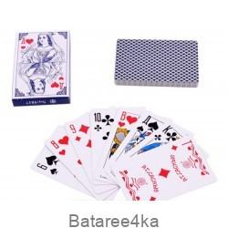 Карты игральные Дама голубая 36 шт, , 0.37$, 80003, , Карты игральные
