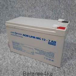 Аккумулятор logicpower 12V 7Ah мультигель, , 16.00$, 77780, LogicPower, Аккумуляторы свинцово-кислотные