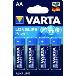 Батарейки VARTA LONGLIFE POWER AA, , 0.39$, 20002, Varta, Батарейки Varta