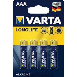 Батарейки VARTA LONGLIFE AAA, , 0.33$, 20004, Varta, Батарейки Varta