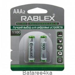 Аккумуляторы Rablex AAA 1100mAh, , 1.05$, 30020, Rablex, Аккумуляторы Rablex
