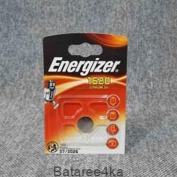 Батарейка Energizer CR1620, , 1.00$, 162016, Energizer, Батарейки таблетки ENERGIZER