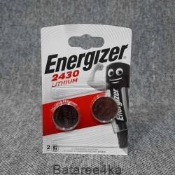 Батарейка Energizer CR2430, , 1.00$, 243024, Energizer, Батарейки таблетки ENERGIZER