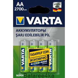 Аккумуляторы VARTA AA 2700mAh, , 3.25$, 2001, Varta, Аккумуляторы Varta