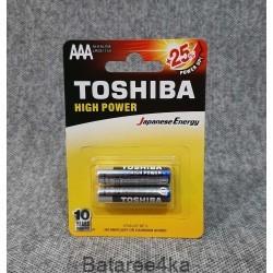 Батарейки Toshiba Alkaline AAA блистер, , 0.23$, 100016, Toshiba, Батарейки Toshiba
