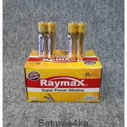 Батарейки Raymax LR03 AAA, , 0.15$, 23335, , Батарейки Raymax
