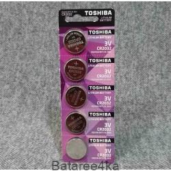 Батарейки Toshiba CR2032, , 0.30$, 55566, Toshiba, Батарейки дисковые