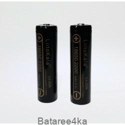 Аккумулятор 18650 Liitokala Lii-22A 2200 mAh, , 2.50$, 7555, LiitoKala, Аккумуляторы Li-Ion 18650 ,14500,16340.