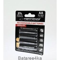 Аккумуляторы Esperanza AA 2600mAh, , 2.00$, 2600, , Аккумуляторы Fujitsu